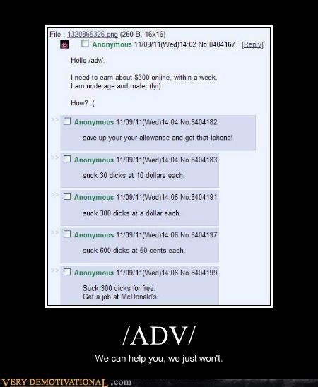 4chan advice hilarious Sad - 5415177728