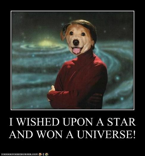 I WISHED UPON A STAR AND WON A UNIVERSE!