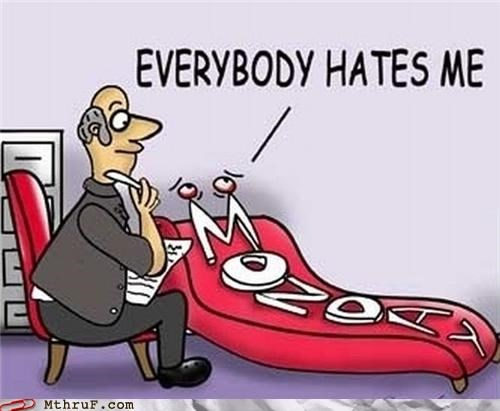 everybody hates me,mondays,take some time off