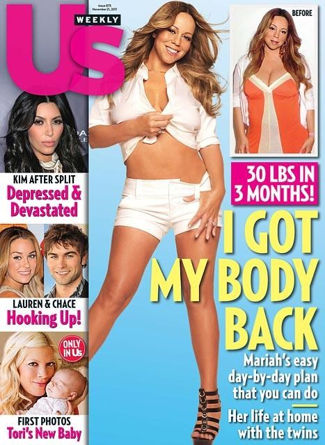 jenny craig mariah carey twins US Weekly weight loss - 5415533824
