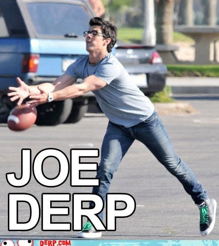 derp,football,Joe Jonas,jonas
