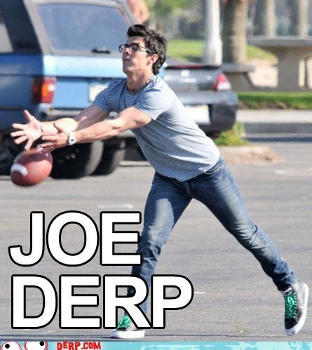 derp football Joe Jonas jonas - 5415556608