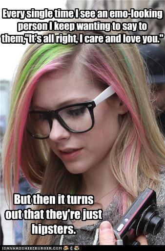 emo hipsterlulz hipsters love wasted - 5415641856