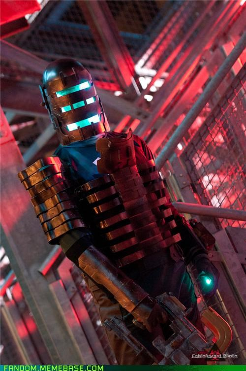 cosplay dead space isaac clarke video games - 5415779072