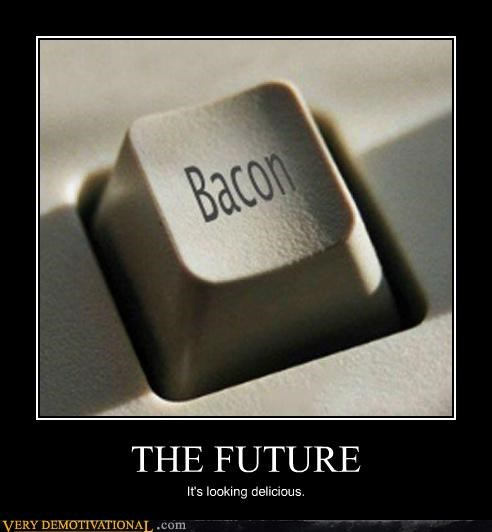 bacon button computer delicious Pure Awesome