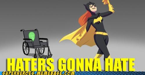batgirl haters magic science Super-Lols walking - 5415853824