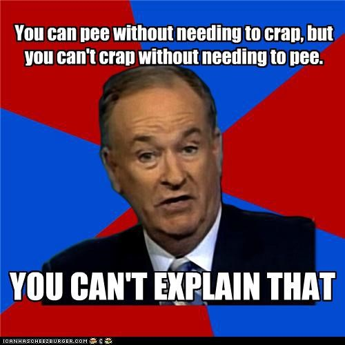 bill-oreilly,mystery,pee,poop,Sad,toilet,what