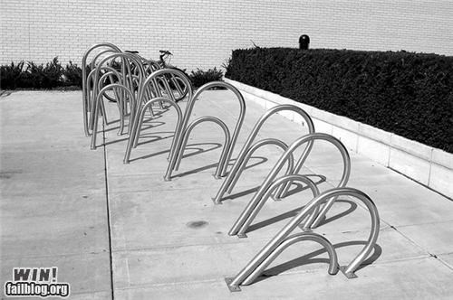 bike bike rack design office supplies paper clip - 5416069120
