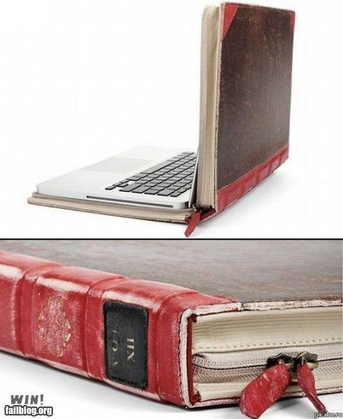 book case clever computer design laptop nerdgasm - 5416165376