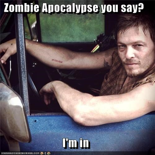 BAMF daryl dixon im-in norman reedus The Walking Dead zombie apocalypse - 5416383488