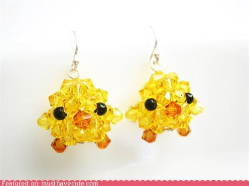 chicks crystals earrings Jewelry sparkly - 5416457472