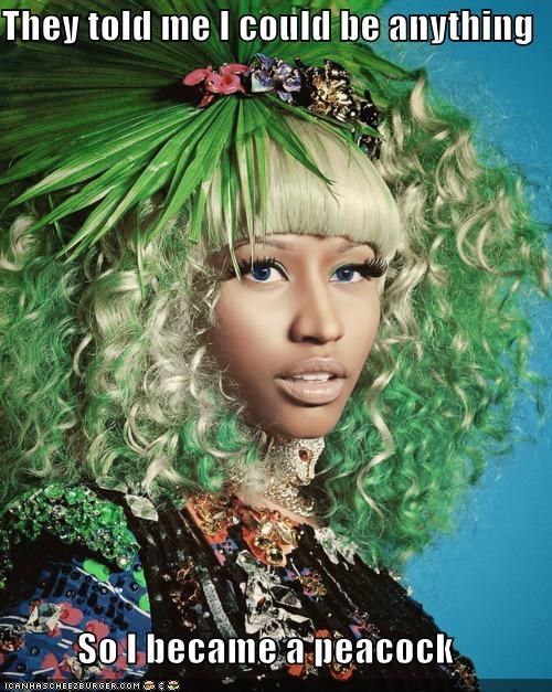 nicki minaj,rappers,so I became,they told me
