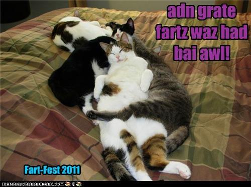adn grate fartz waz had bai awl! Fart-Fest 2011