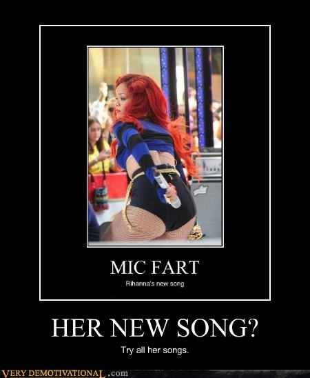 fart hilarious rihanna song wtf - 5416951296