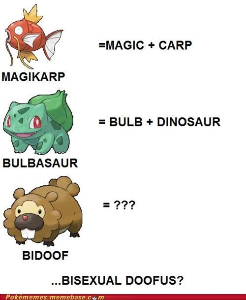bidoof,bulbasaur,doofus,magikarp,Memes,Nailed It