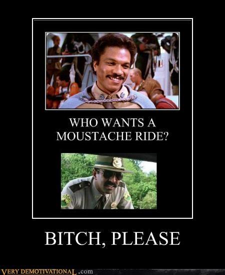 hilarious lando moustache ride - 5417661184