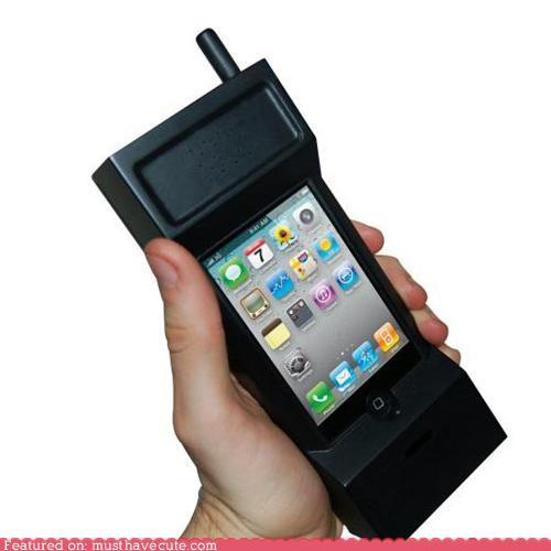 case giant huge phone retro ridiculous