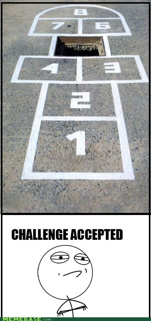 5 Challenge Accepted hole hopscotch wheres-the-five - 5418226688