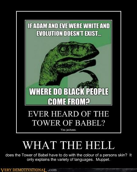 babel,bible,hilarious,language,muppet,philosoraptor