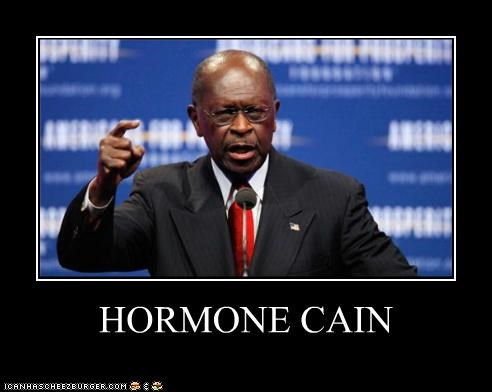 herman cain political pictures