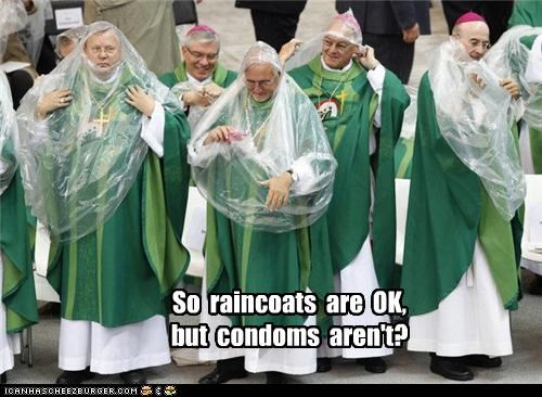 catholic church,condoms,political pictures