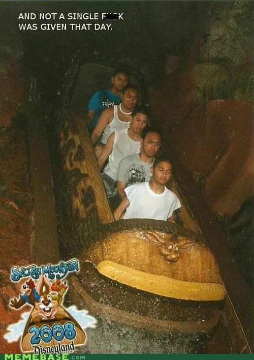 IRL ride roller coaster splash mountain