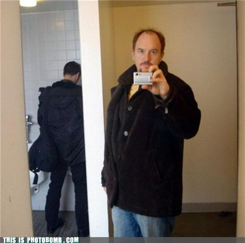 bathroom,best of week,celeb,Celebrity Edition,louie louie,louis c.k,selfshot