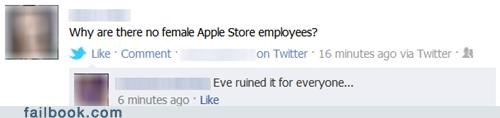 apple apple store Eve female