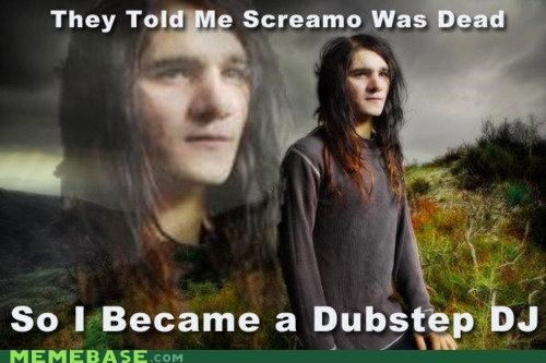 anything dj dubstep screamo skrillex Technologically Impaired Duck - 5418966016