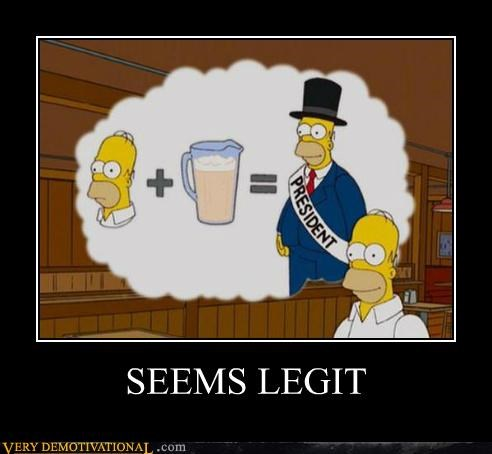 beer cartoons hilarious president simpsons - 5418972672