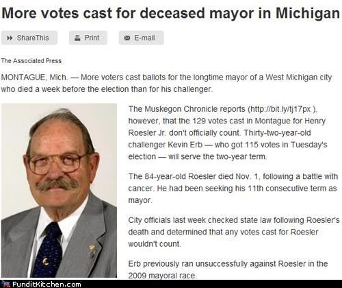 deceased,election,mayor,michigan,political pictures