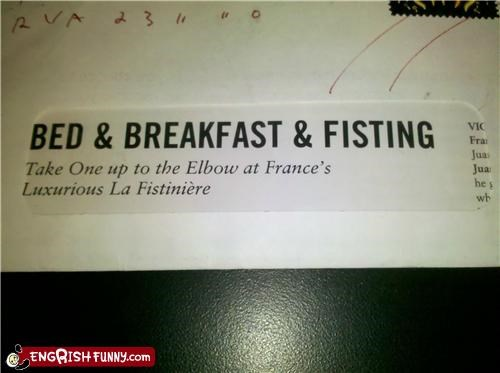 and fisting,bed-breakfast,fisting,just the first two please