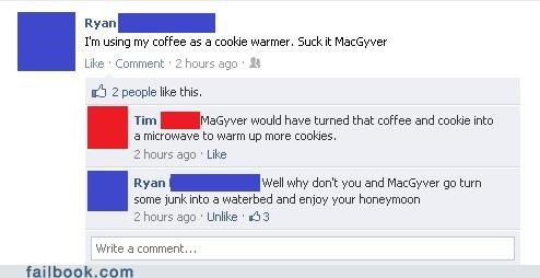 cookies macgyver oh snap