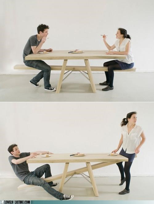 bench,see saw,table,teeter totter