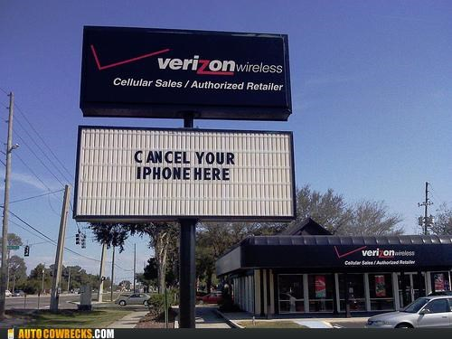 Ad bulleting cancel iphone verizon - 5419546112