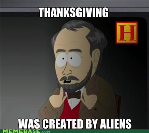 ancient aliens,channel,history,South Park,thanksgiving