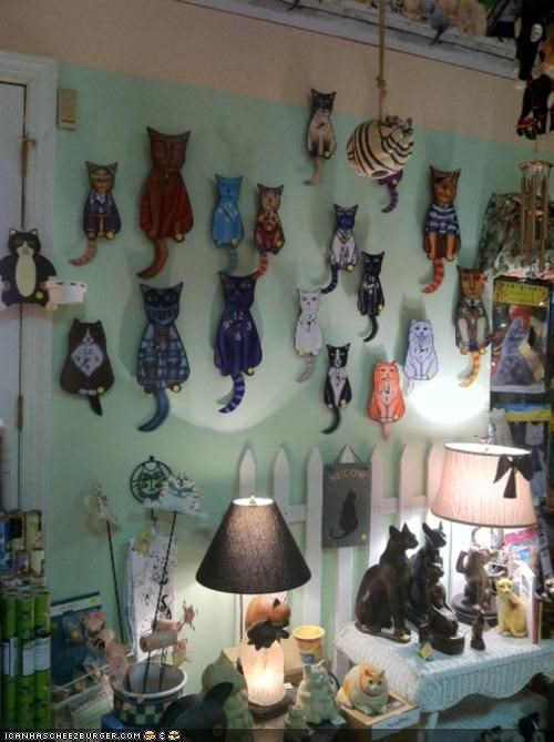 The Craziest Crazy Cat Lady Shop Ever