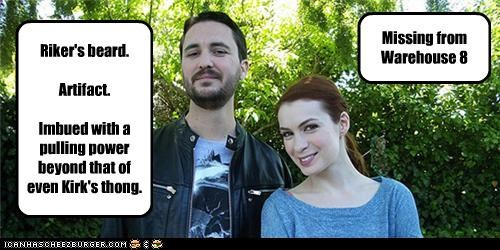 crossover eureka Felicia Day warehouse 13 will wheaton - 5419798272