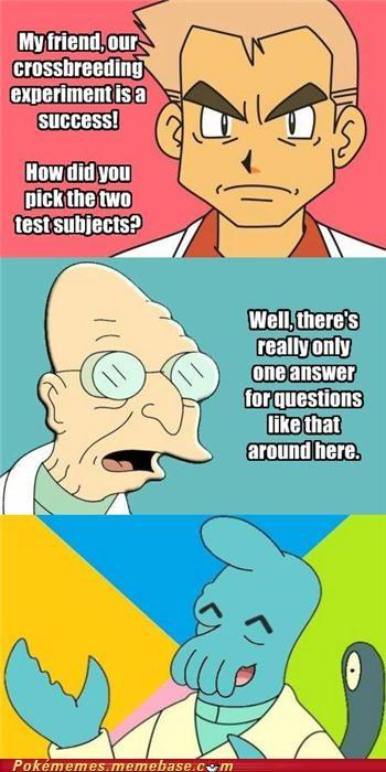 crossover meme Memes Professors wynaut Zoidberg - 5419864576
