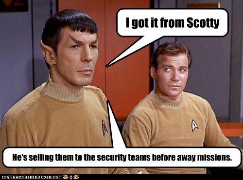 Captain Kirk Leonard Nimoy scotty Shatnerday Spock Star Trek William Shatner - 5419954688