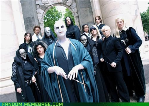 cosplay deathly hallows Harry Potter voldemort - 5419997184