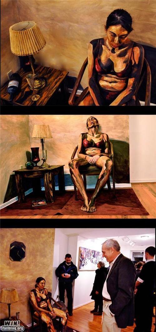 art body paint design illusion painting photography portrait - 5420037376