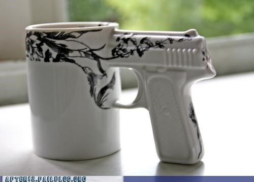drinking gun shootout shot glass shots trigger - 5420271360