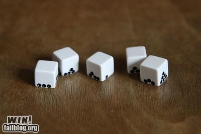 clever design dice Gravity nerdgasm