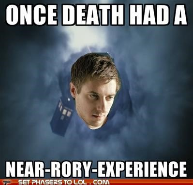 arthur darvill,Death,doctor who,rory williams,tardis