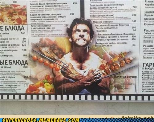 grilling kabob meat Random Heroics wolverine - 5420553984