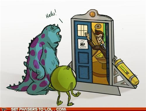 closet David Tennant monsters inc tardis the doctor - 5420554752