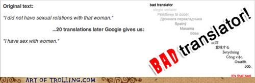 Bad Translator bill clinton women - 5421772800