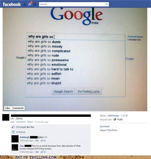 facebook girls google printscreen - 5421847296