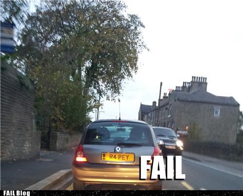 cars FAIL license lols you-cant-say-that - 5422159360